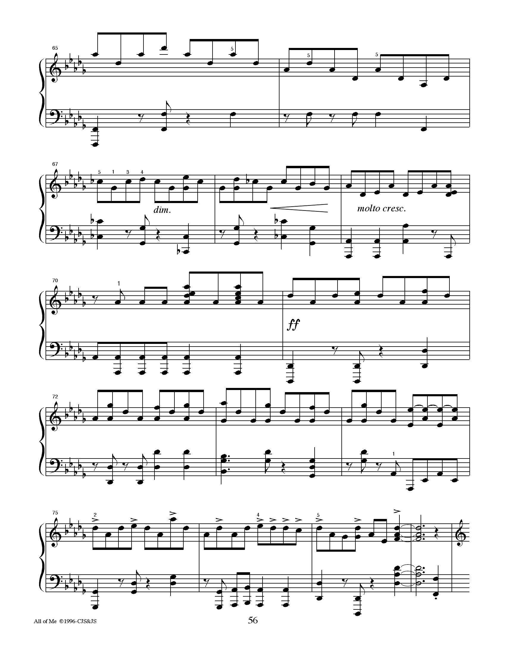 Jon schmit All of me6 - نت آهنگ All of me از Jon schmit