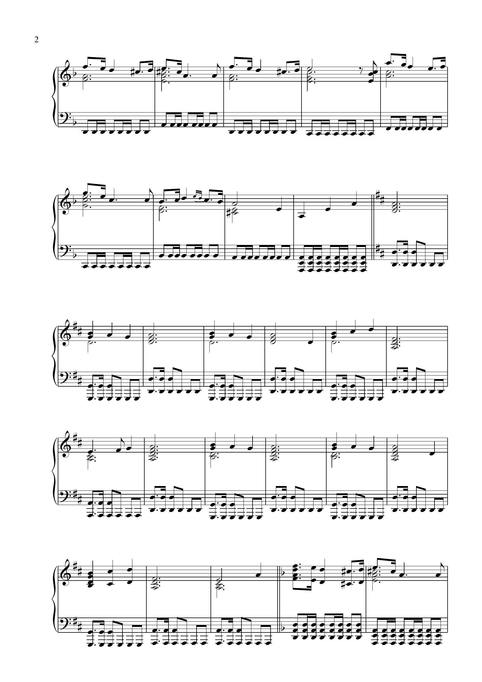 Vangelis Conquest of paradise2 - نت آهنگ Conquest of paradise از Vangelis