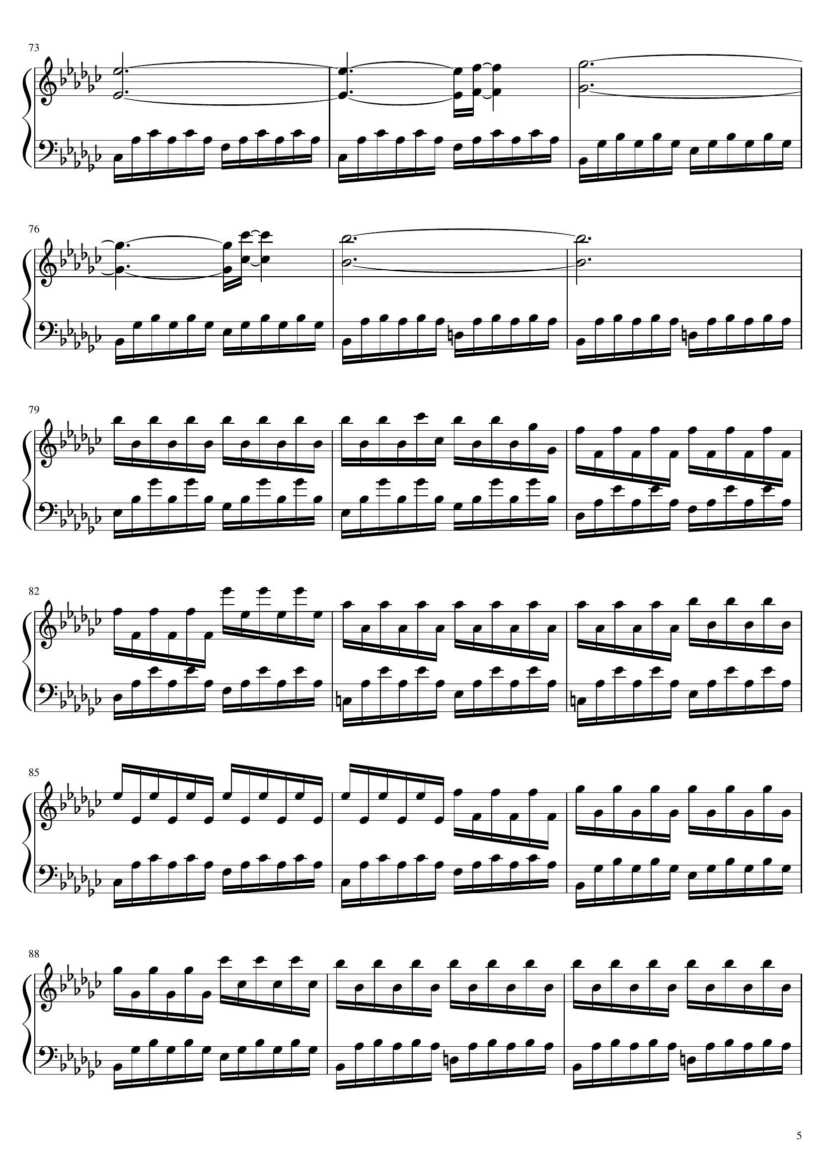 Yann tiersen Porz goret5 - نت آهنگ Porz goret از Yann tiersen