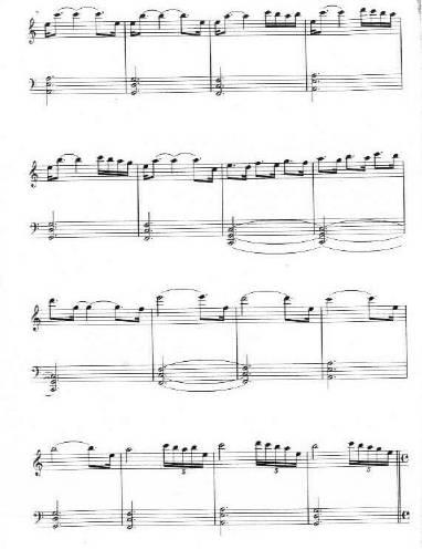 Yanni Santorini2 - نت آهنگ Santorini از Yanni